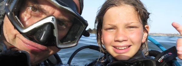 Гмуркане за начинаещи в море