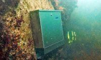 Първата подводна пощенска кутия в България е на 2,5 м. под вода в Созопол